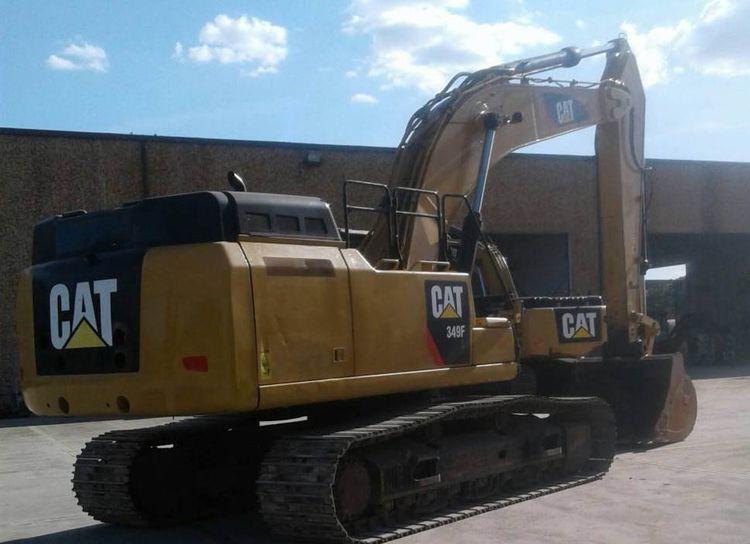 Caterpillar 349FL Tracked Excavators