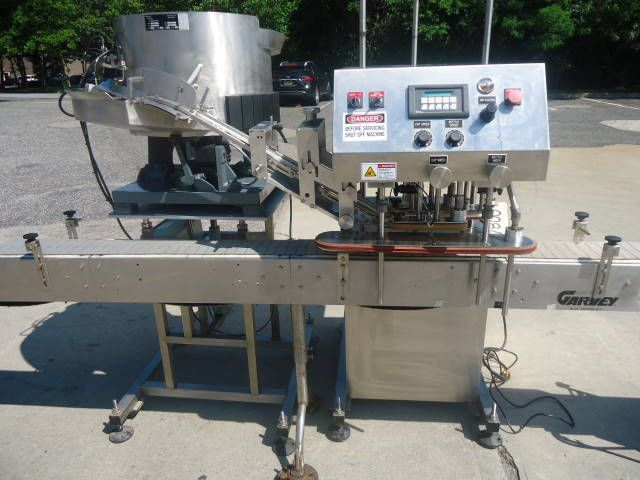 Inline Filling Systems (IFS) COMPUTORQUE CAPPING MACHINE
