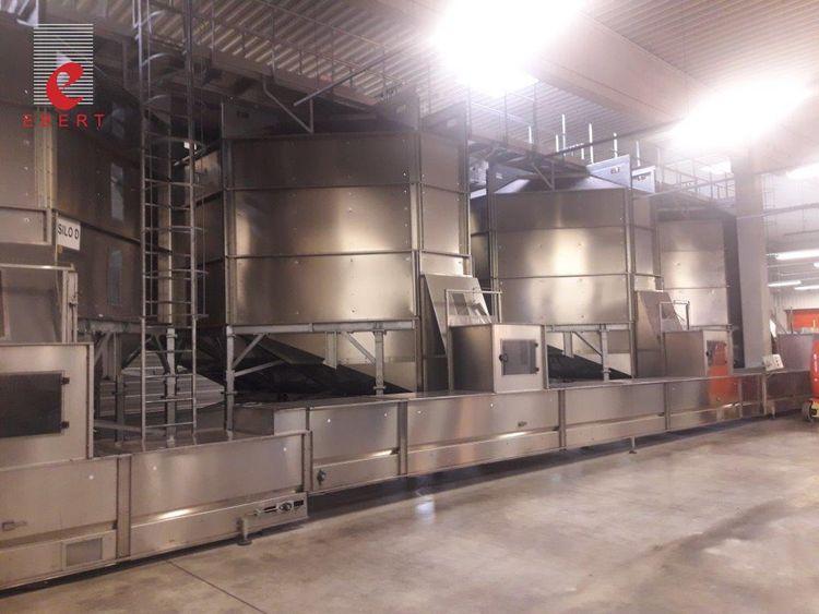 Sidel PET bottle silo bulk storage plant