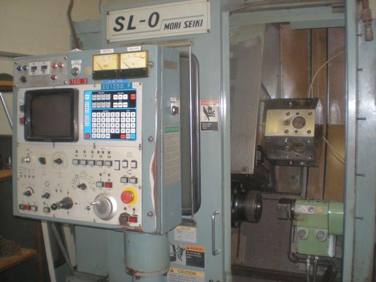 Mori Seiki YASNUC LX 1 CONTROL Max. 6000 rpm SL 0 2 Axis