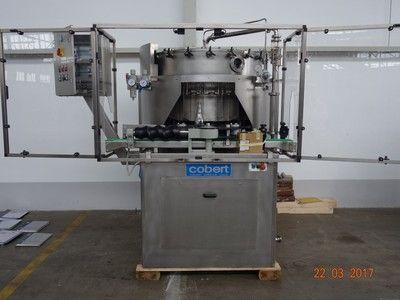 Bertolaso Exacta 20,  pressure filler 20er valves