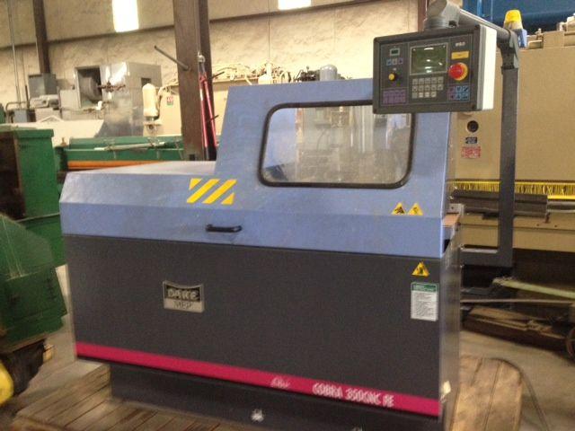 Dake, MEP Cobra 350 CNC FE Circular Cold Saws Semi Automatic