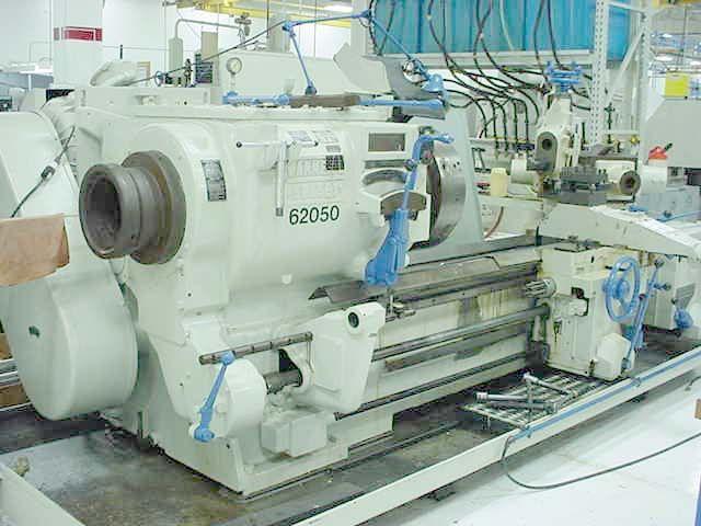 Warner & Swasey Engine Lathe 424 RPM M1500