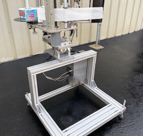 Tronics S-1000 Wipe On Pressure Sensitive Labeler