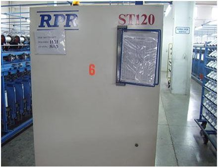 6 R.p.r. GC - 96, ST - 120 Twisting Machines