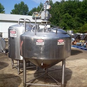 Crepaco 220 Gallon Jacketed Mix Tank