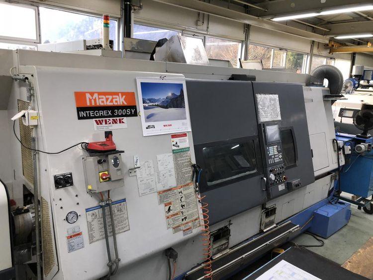 Mazak MAZATROL PC Fusion 640M 10000 rpm INTEGREX 300 SY 9 axis Lathe