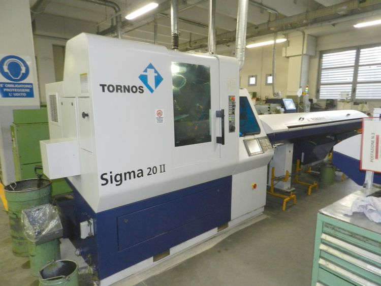 Tornos GE Fanuc Series 31i Model A 10000 rpm DECO SIGMA 20 II 8 axis