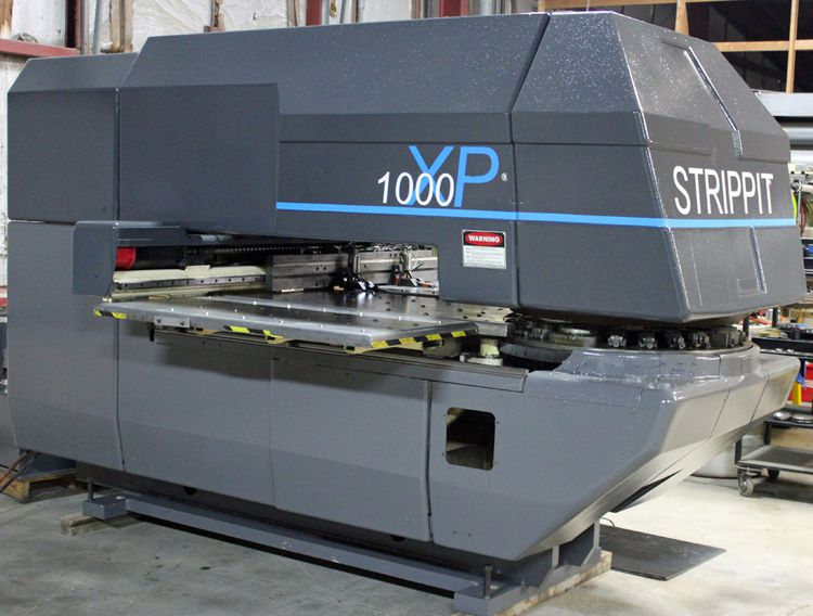 LVD, Strippit 1000 XP CNC Turret Punch 230 Ton