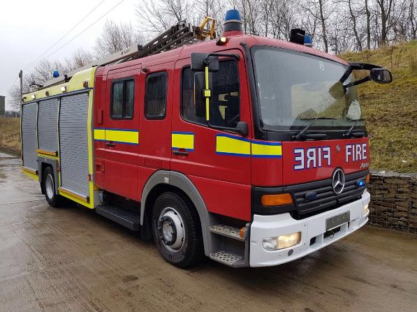 Mercedes Atego Rescue Pumper