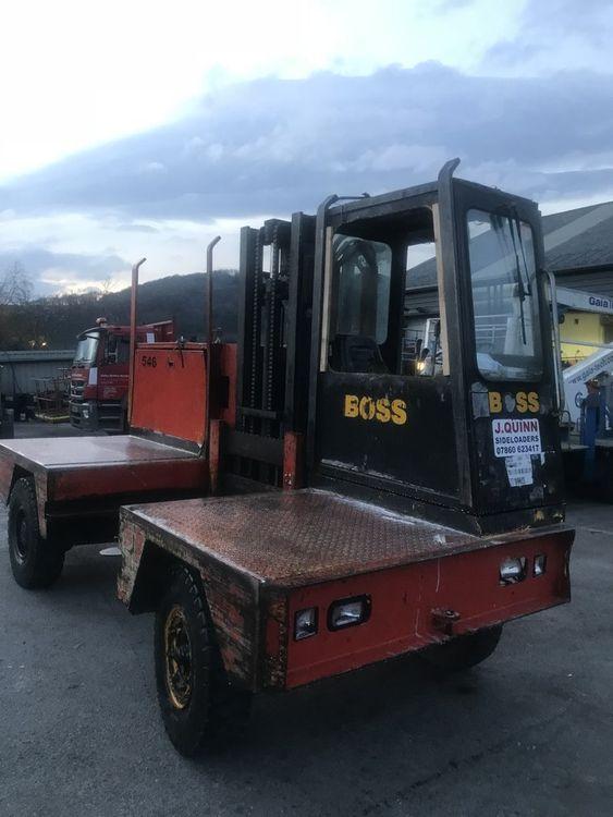 Boss 546 - 4 Ton Diesel Sideloaders 4 Ton