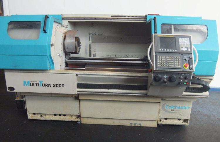 Colchester Fanuc 0iTC CNC Control 2700 rpm MultiTurn 2000 2 Axis