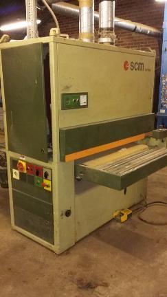SCM CL110K/RT, Twin Belt Sander