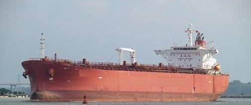 Shin Kurushima Double Hull Oil Tanker Dwt 53755 mt on 13.02m ssw