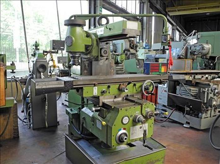 Lagun FU 1400 universal milling machine 1.400 rpm
