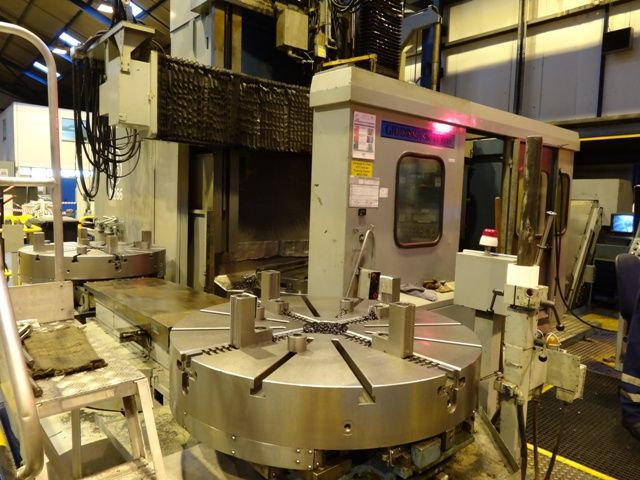 Gidding-Lewis G&L 8000A CNC-control Max. 333 U/min  2 Axis Vertical Turret Lathe - Single Column