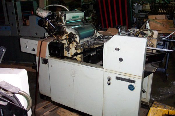 Hamada 600 CD, 1 color Offset Machine