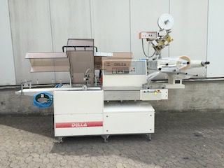 Ilapak Delta G E  horizontal packaging machine flow pack