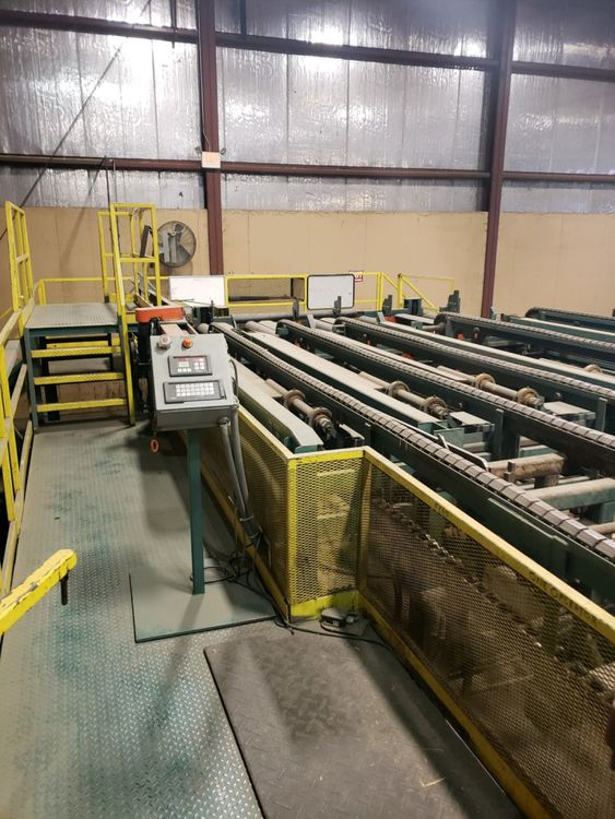 Complete Freodge Automated Dry Lumber Stacker Line