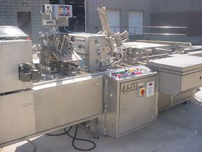 IWKA CP160, FULLY AUTOMATIC HORIZONTAL TUBE CARTONING MACHINE