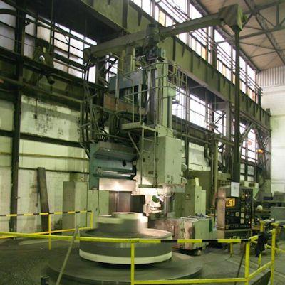 Blansko, CKD SKJ 32/63 CNC Vertical Boring Mill