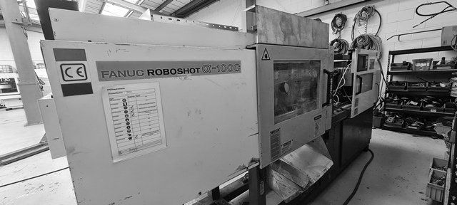 Fanuc Roboshot Alpha 100C 100 T