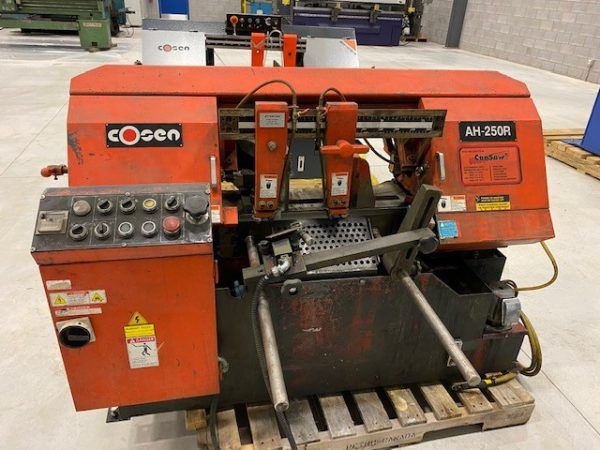 Cosen AH-250R roller infeed saw Automatic