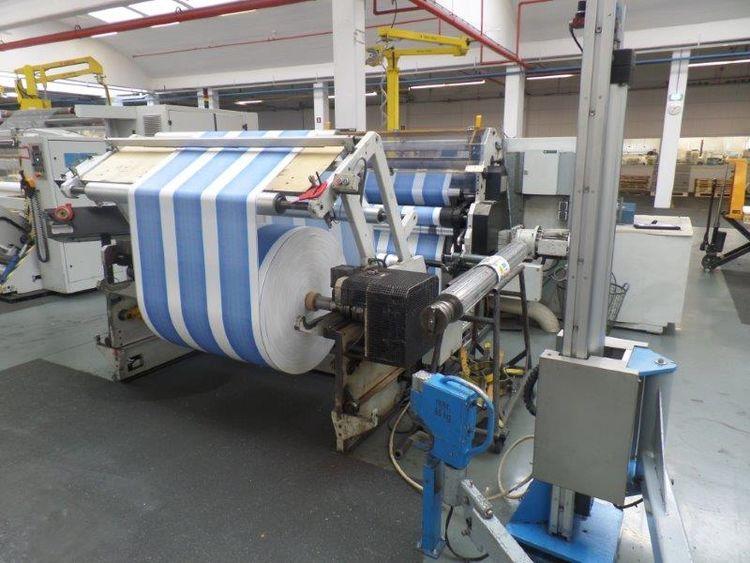 Dutch TS600-1300, Paper slitter rewinder 1400 mm