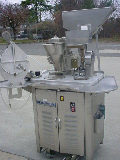 Capsugel PD-8  CAPSULE FILLING MACHINE.