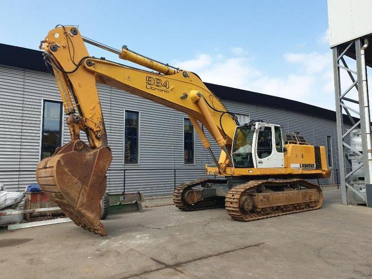 Liebherr R964B Tracked excavators