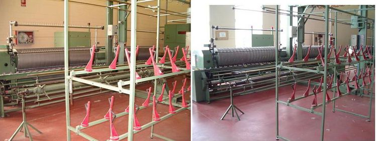 3 Guma Automatic yarn raising machines