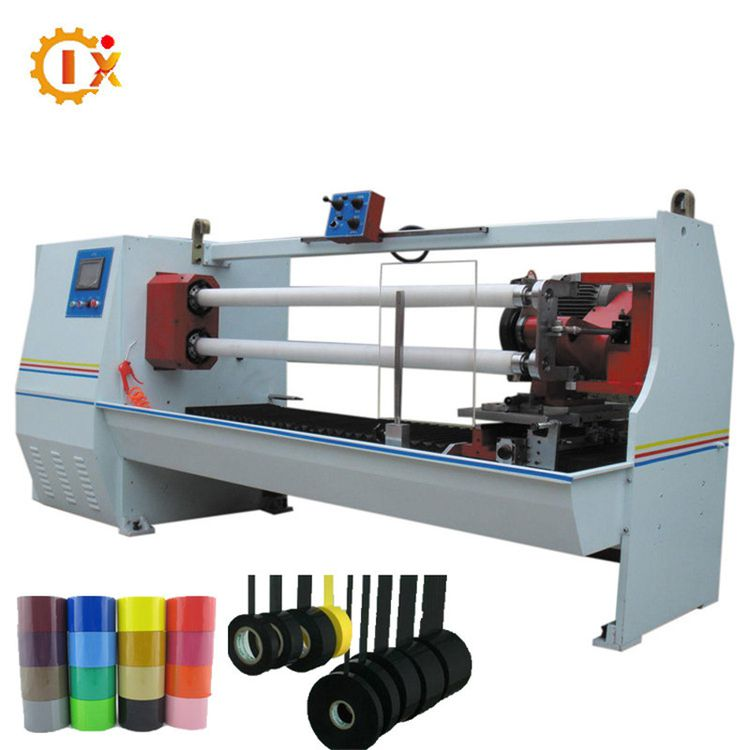 GL- 702 double blades Automatic medical cotton tape / masking tape / pvc electrical tape cutting machine