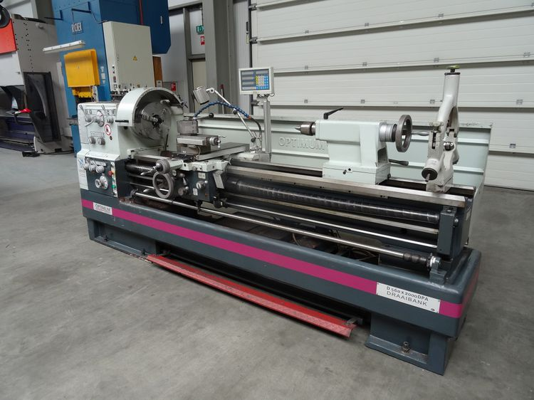 Optimum Engine Lathe Variable D560x2000