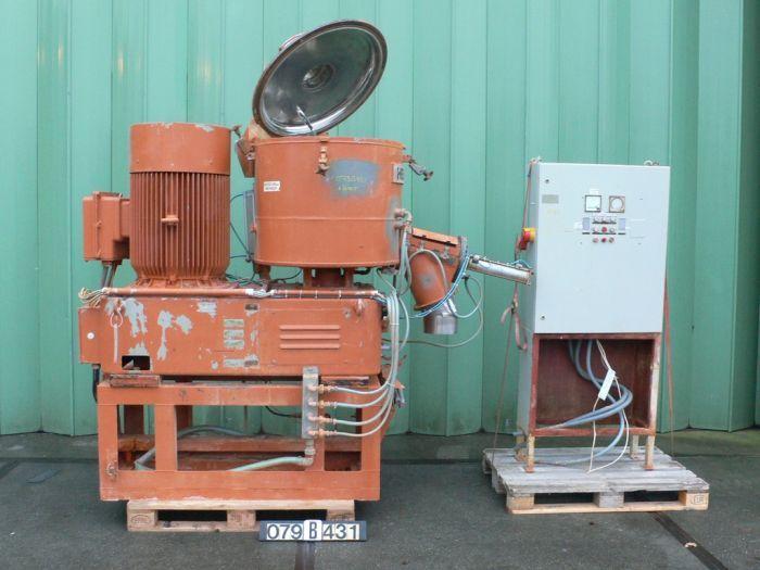 Thyssen FM-250 MB - Hot mixer