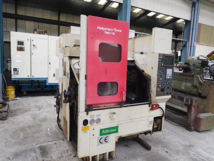 Nakamura CNC Fanuc 21 TB 4500 rpm TMC 18 2 Axis