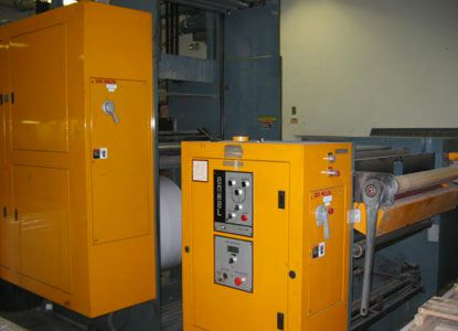 Solna 30B. Web press machine 4 Colors