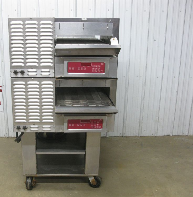 Blodgett MT1828E Double Stack Electric Conveyor Pizza Oven