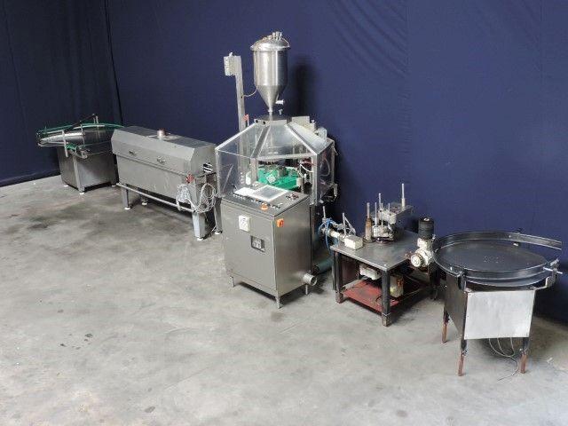 Hamba BF5012/2 Glass Bottle-Jar filling line