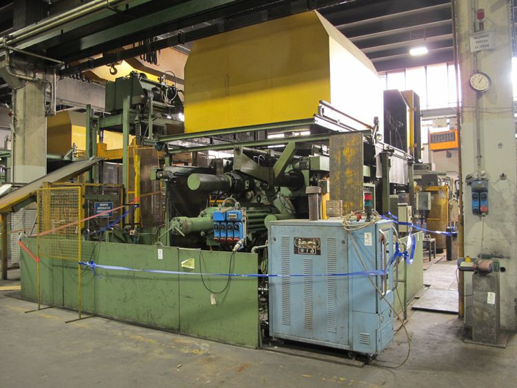Aluminium diecasting foundry, Idra 2000 ton clamping power, Marconi Furnaces, Moulds, Machine tools, 48 lots in total
