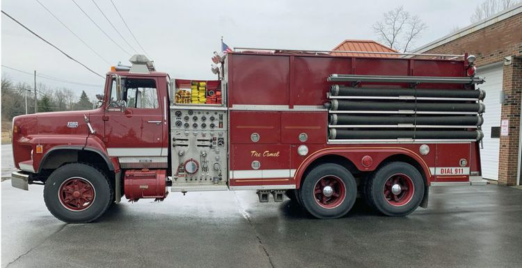 Ford L 9000, Fire Truck