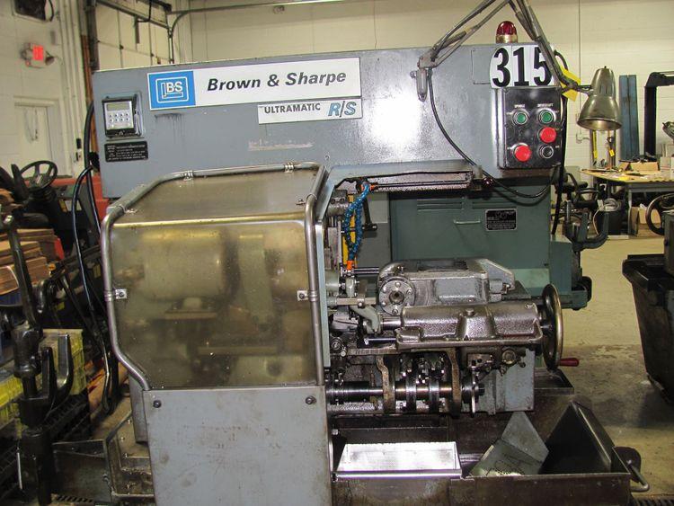 Brown & Sharpe ULTRAMATIC RS SCREW MACHINE 6060 RPM NO. 00