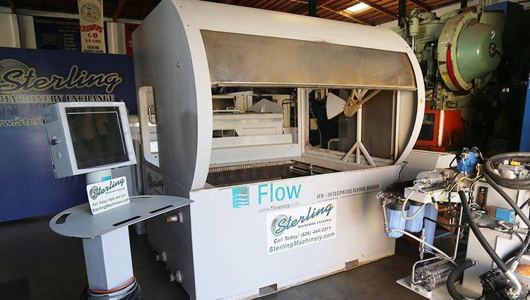 Flow IFB 4400 (Current Model M3 1313b) CNC Control