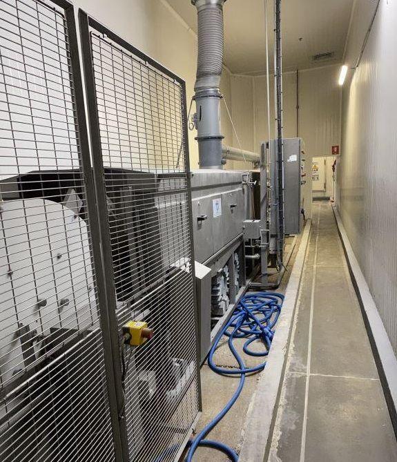 Numafa RWM 800 tray washing tunnel