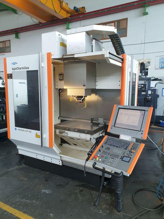 Mikron VCP600 HSM 42000 Vertical 42000 rpm