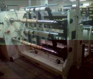 Deacro DA 653A, Slitter rewinder 1600mm