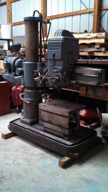 "Cincinnati BICKFORD 3' x 9"" 2500 rpm"