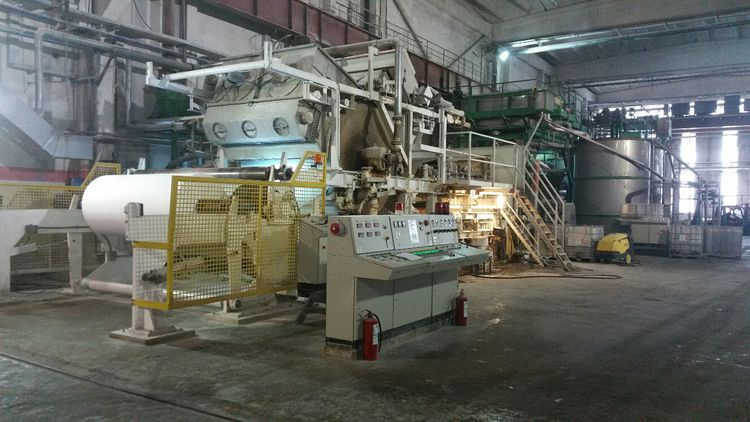 Recard Complete Tissue Paper machine, installed in 2009 & updated 2015, BIG REDUCTION ! 2310 mm 17 - 36 gsm 17 TPD