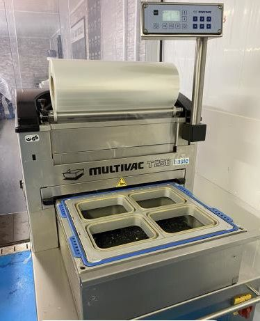 Multivac T200 Tray Sealer with Gas