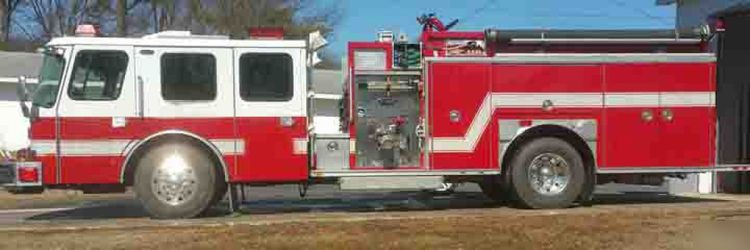 E-One Hush, Fire Truck