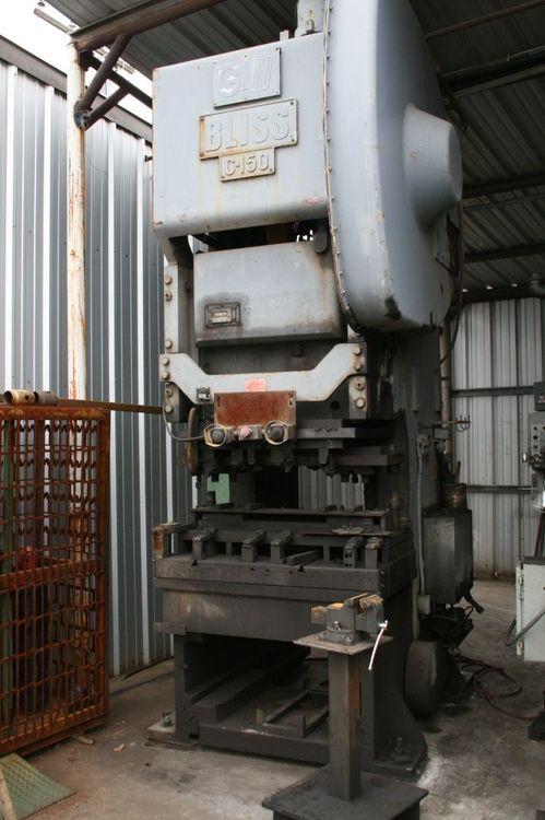 Bliss C-150 Max. 150 Ton Gap Press